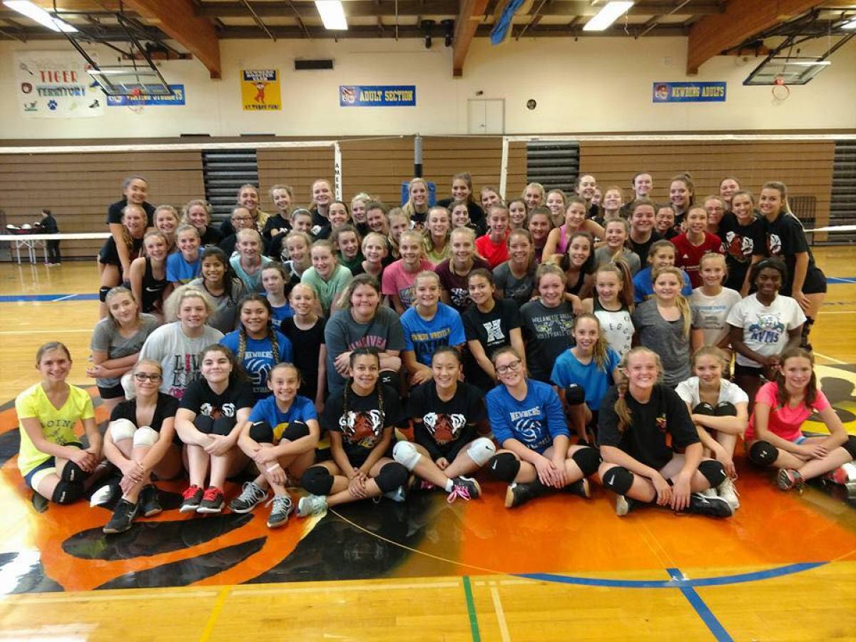 CPRD Middle School Volleyball | Chehalem Park & Recreation